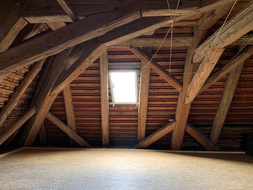Wirksame Dachbodenisolierung