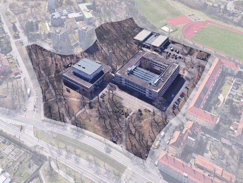 Notsanierung EWF Nürnberg